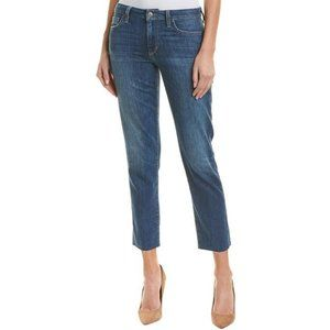 Joe's Jeans High-Rise Frayed Ankle Jeans